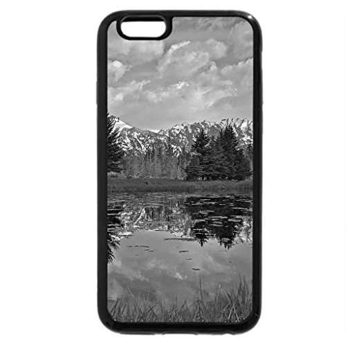 iPhone 6S Case, iPhone 6 Case (Black & White) - Cool View
