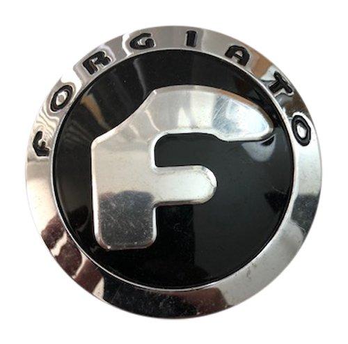 Center Cap - Forgiato Wheels 238K70 USED Chrome and Black