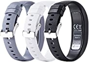 Replacement Accessory Fitness Band for Garmin Vivofit 4,MEIRUO Wristband for Garmin Vivofit 4