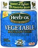 Herb-Ox Vegetable Bouillon Cubes 3.33oz (25 cubes)