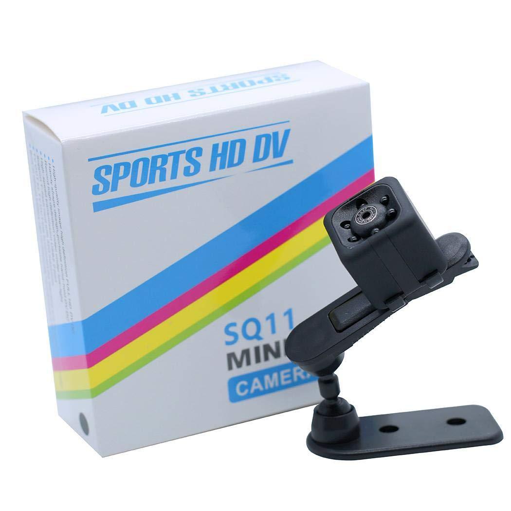 mekolen Mini SQ11 HD Camera - 1080P HD Pixel Outdoor Portable Sports Camera Spy Cameras DV Video Recorder Motion Detection Security Camera,Black