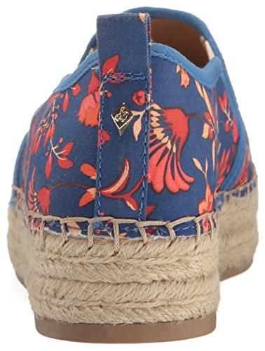 Sam Edelman Damen Carrin Espadrilles Blue/Multi Festival Floral Print