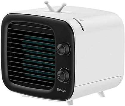 HSKB - Minienfriador de aire, aire acondicionado portátil, USB, humidificador/purificador de aire, Super Wind Speed, aire acondicionado, ventilador para casa, oficina, coche, al aire libre: Amazon.es: Bricolaje y herramientas