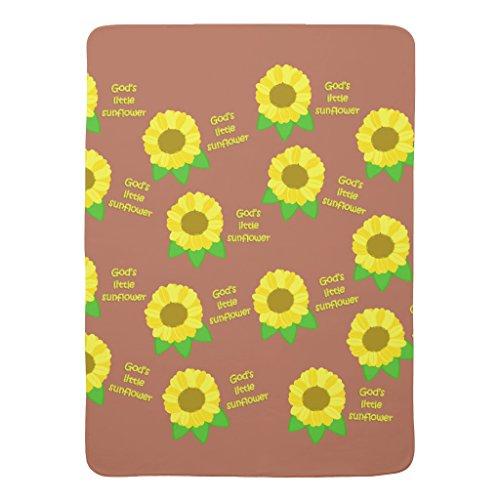 Zazzle God's Little Sunflowers Baby Blanket