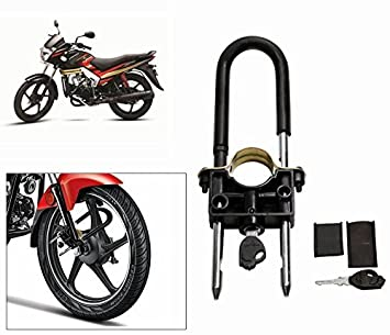 Cape Shoppers Universal Bike Front Wheel Lock For Mahindra Centuro