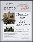 Brand New Wendy Vecchi Clearly For Art Modeling Film Sheets 3/Pkg-Blackout 8''''X10'''' Brand New