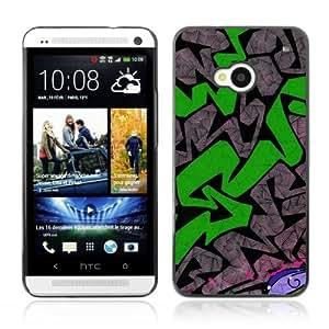 YOYOSHOP [Graffiti Pattern] HTC One M7 Case
