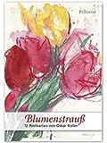 Blumenstrauß: 12 Postkarten von Oskar Koller