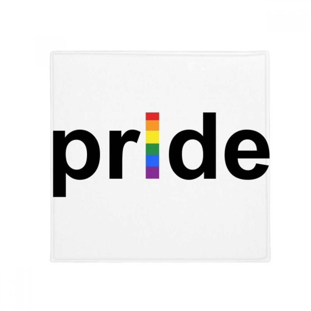 DIYthinker LGBT Rainbow Gay Lesbian Transgender Anti-Slip Floor Pet Mat Square Home Kitchen Door 80Cm Gift