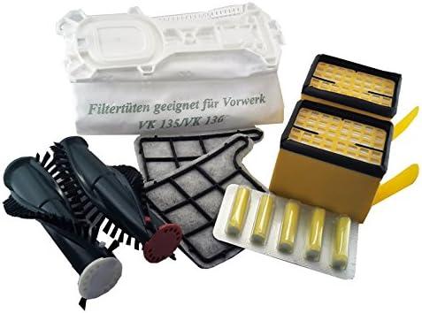 24 bolsas de aspiradora + 4 filtro + Cepillos + ambientadores para ...