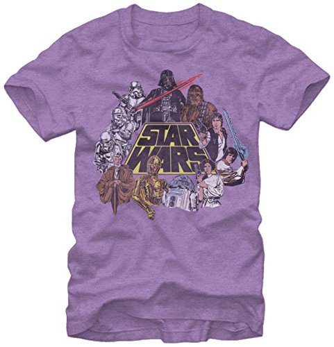 Star Wars Wars In Color T Shirt
