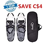 "Gpeng Snowshoes Snow Shoes 14"" /21""/ 25""/ 27""/ 30"" for Adults Men Women Youth Kids Lightweight Aluminum Alloy with Carry Bag and Adjustable Ratchet Bindings"