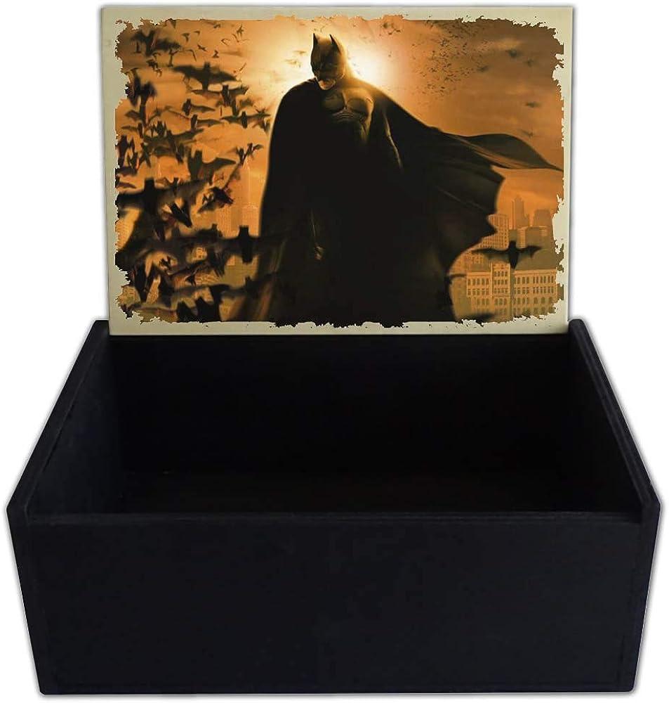 Capricci Italiani - Caja Porta Objetos de Madera Batman: Amazon.es: Joyería