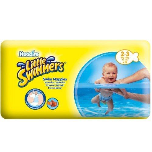 Huggies - Little Swimmers Schwimmwindeln Gr. 2-3, 3-8 kg