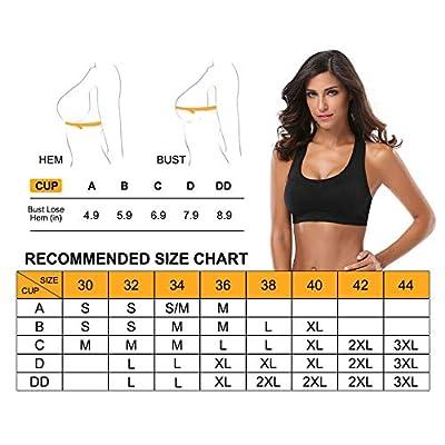 MIRITY Women Racerback Sports Bras - High Impact Workout Gym Activewear Bra at Women's Clothing store
