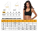 MIRITY Women Racerback Sports Bras - High Impact