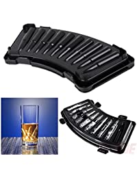Get 3D AK-47 Bullet Shaped Freezer Ice Cube Tray Plastic Pudding Jelly Party Drink offer