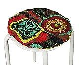 bar stool seat pads - [Bohemia-4] Cotton Round Stool Pad Stool Calico Cushion Bar Stool Mat
