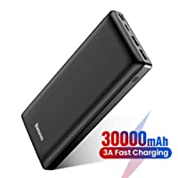 Deals on Baseus 30000mAh Fast Charging External Battery Pack USB C