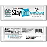 Stay Thin® Protein Bar (Organic Peanut Butter) (170 Cal)(20g Protein)(Egg White)(3 Net Carbs)(4 Ingredients)(1g Sugar)(12 Gluten-Free Bars)