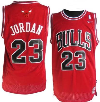 Camiseta de Chicago Bulls, Michael Jordan, roja.Talla pequeña ...