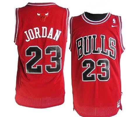 Camiseta de Chicago Bulls, Michael Jordan, roja.Talla pequeña, para hombre, por Michael Jordan: Amazon.es: Deportes y aire libre