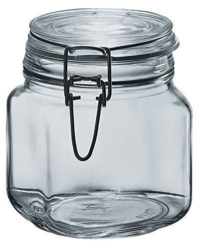 Le Comptoir de la keeps 5022 Set of 6 Clear Glass Preserv...