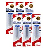 Pentel Refill Eraser for AL, AX and PD Series Pencils, 12 Tube Pack PDE-1