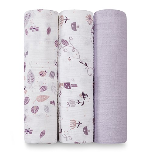 aden anais organic swaddle pack