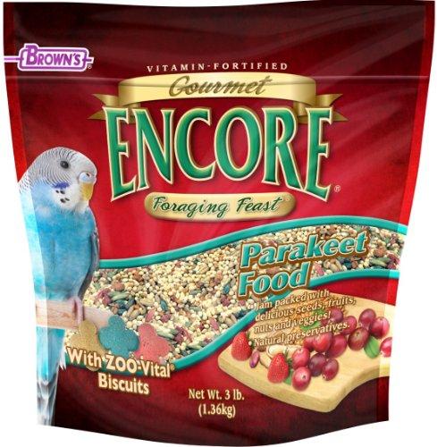 F.M.BROWN'S Encore Gourmet Parakeet Food, My Pet Supplies
