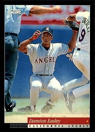 1994 Score Baseball Card 17 Damion Easley