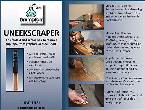 Brampton Uneekscraper Golf Grip Tape Remover Perfect For