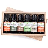 Plant Therapy 'Tis the Season Essential Oil Holiday Gift Set. Includes: Clove Bud, Pine, Sweet Orange, Nutmeg, Peppermint and Cinnamon. 10 mL (1/3 Ounce) each.