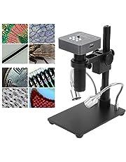 Cámara de microscopio digital, microscopio electrónico USB 48MP HDMI para microelectrónica para joyería para soldadura de PCB de teléfono(Transl)