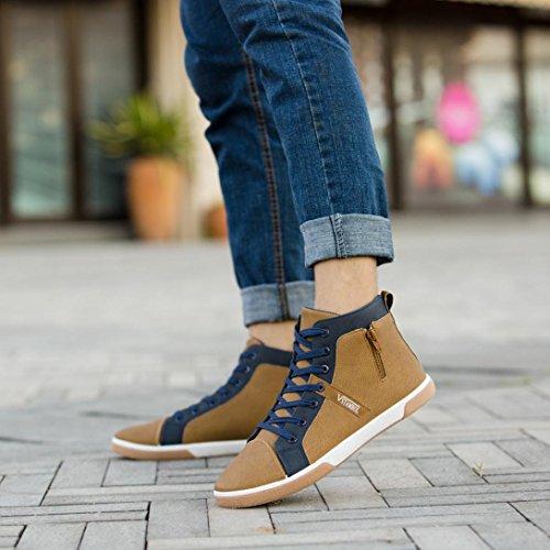 Schuhe Herren Freizeitschuhe Sunnywill High Zipper 39 Schnürschuhe Top Sneaker Sneaker Turnschuhe Mann Schuhe Freizeitschuhe Mode Herren 7z17r8