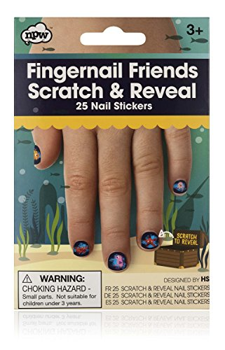 NPW Fingernail Friends Nail Decals (Best Friend Finger Tattoos)