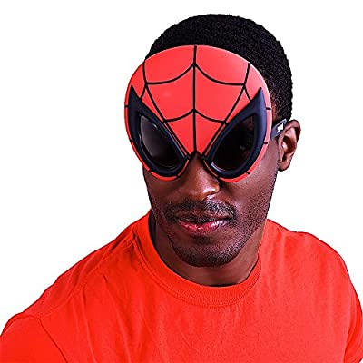 Sun-Staches Costume Sunglasses Spiderman Party Favors UV400: Toys & Games