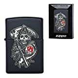 Zippo 29489 Sons of Anarchy Lighters Made in USA South Korea Version