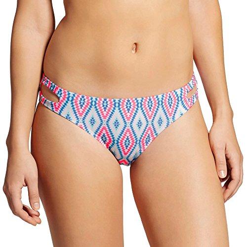 (Xhilaration Women's Hipster Bikini Bottom (Small, Geo Multi) )