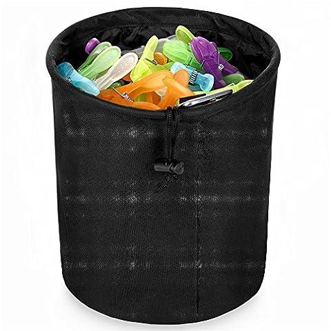 DoGeek Family Premium clothespin bag Pins Bag Pet Bag up to 20 clothespins Enough for whole family (Disney Pin Grab Bag)