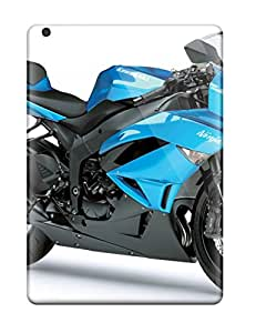 ZippyDoritEduard Premium Protective Hard Case For Ipad Air- Nice Design - Kawasaki Ninja Zx 6r Blue Motorcycle
