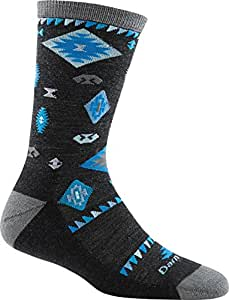 Darn Tough Tribal Crew Light Sock - Women's Charcoal Small DISCONTINUED