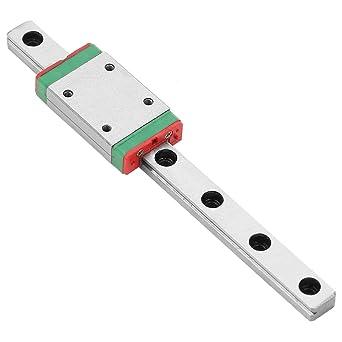 7 mm MGN7H Riel Lineal Mini Guía de Deslizamiento + Cojinete ...