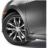 LONGKEES Set of 4 Front+Rear Splash Mud Guards for 2016-2017 Honda Civic Sedan 4-Door