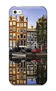 New Arrival for ipod Touch 4 Case Amsterdam City Case Cover