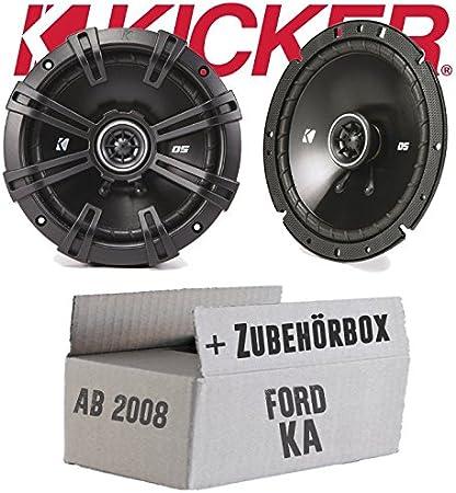 Kicker DSC 670 | 16cm Koax Lautsprecher - Einbauset für Ford KA 2 ...