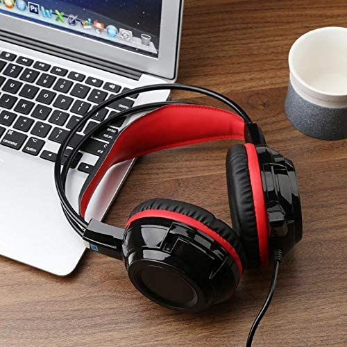 DP-iot X7 Universal 3.5mm Gaming Headset Stereo Surround Headband Headphone with Mic Volume Control for PC Laptop