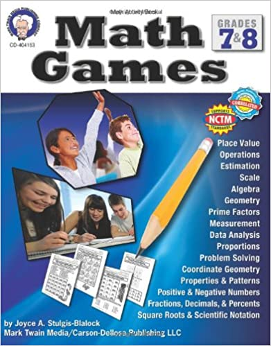 :DOC: Math Games, Grades 7 & 8. Aceite boutique KOBLENZ Barakah Mercado Supplier Educator