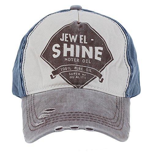 Canvas Distressed Cap - Refaxi®Men Women Distressed Baseball Cap Vintage Hat Trucker Adjustable Canvas Coffee