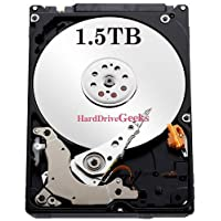 New 1.5TB 5400RPM 32MB 2.5 SATA Hard Drive for PS3 Fat, Slim, Super Slim, PS4
